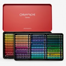 Caran d'Ache : Neocolor II : Watercolour Crayon : 84 in a Metal Box