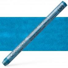 Caran d'Ache : Classic Neocolor I : Metallic Phtalo. Blue