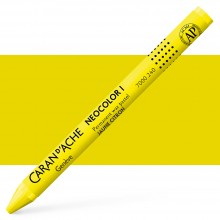 Caran Dache : Classic Neocolor I : Lemon Yellow