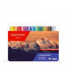 Caran d'Ache : Classic Neocolor I : Assorted Tin Of 40