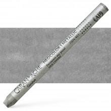 Caran d'Ache : Classic Neocolor I : Metallic Ash Grey
