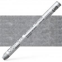Caran d'Ache : Classic Neocolor I : Metallic Silver