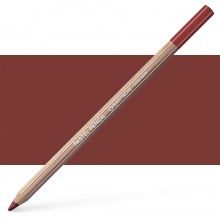 Caran d'Ache : Pastel Pencil : Burnt Sienna