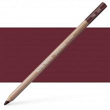 Caran d'Ache : Pastel Pencil : Dark Carmine