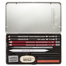 Cretacolor : Teacher's Choice Drawing Set of 11