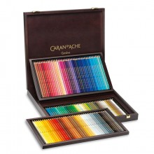 Caran d'Ache : Supracolor Soft : Watersoluble Pencil : Wooden Box : Set of 120
