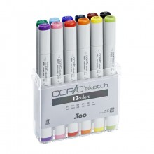 Copic : Sketch : Basic (Classic) Set of 12