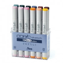 Copic : Sketch : EX-2 : Set of 12