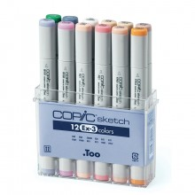 Copic : Sketch : EX-3 : Set of 12