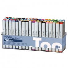 Copic : Sketch Set D : Set of 72