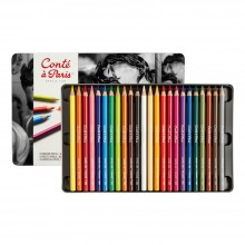 Conte : Pastel Pencil : Assorted Set of 24