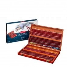 Derwent : Pastel Pencil : Wooden Box Set of 72