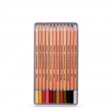Derwent : Academy Watercolour : Set of 12 : Skintones