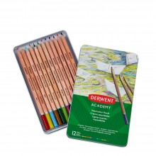 Derwent : Academy Watercolour : Tin Set of 12