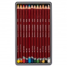 Derwent : Pastel Pencil : Tin Set of 12