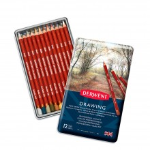Derwent : Drawing Pencil : Set of 12