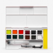 Derwent : Inktense Paint Pan : Travel Set of 12