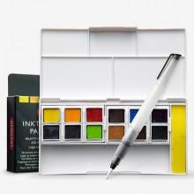 Derwent : Inktense Paint Pan : Travel Set of 12