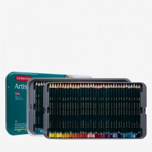 Derwent : Artists 72 Coloured Pencil Set in Metal Tin