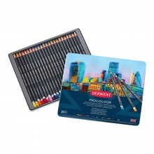 Derwent : Procolour : Colour Pencil : Tin Set of 24