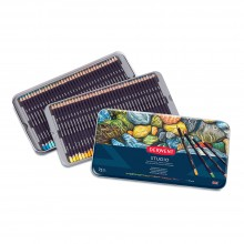 Derwent : Studio Pencil : Metal Tin Set of 72