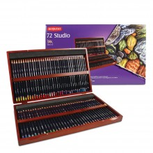 Derwent : Studio Pencil : Wooden Box Set of 72