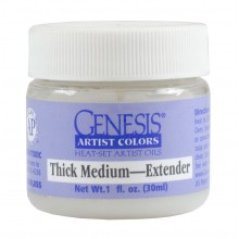 Genesis Heat Set Oil Paint : Medium THICK MEDIUM 30ml (1oz) jar