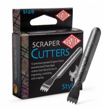 Essdee : Scraperboard Cutter : Shape No.5 : Box of 12 (Requires a Handle/Holder)