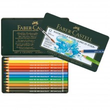 Faber Castell : Albrecht Durer Watercolour Pencil : Metal Tin Set of 12
