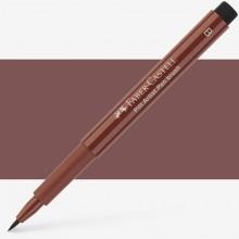 Faber Castell : Pitt Artists Brush Pen : Caput Mortuum
