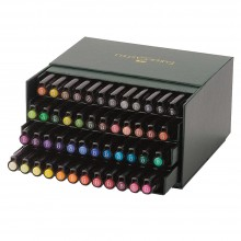 Faber Castell : Pitt Artists Brush Pen: Studio Box : Set of 48 Assorted Colours