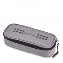 Faber Castell : Melange Pencil Case : Grey