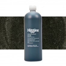 Higgins : Pigmented Ink : Waterproof : 32oz (947.2ml) : Black India