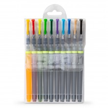 JAS : Watercolour Brush Pen : Set of 10