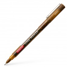 Derwent : Graphik Line Maker Pen : Sepia : 0.3mm