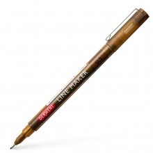 Derwent : Line Maker Pen : Sepia : 0.5mm