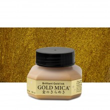 Kuretake : Gold Mica Ink : 60ml