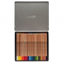 Lyra Rembrandt Polycolor Coloured Pencil Set : Metal Box 24 pcs