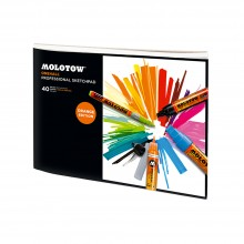 Molotow : One4All Professional Sketchpad : 150gsm : 40 Sheets : A4