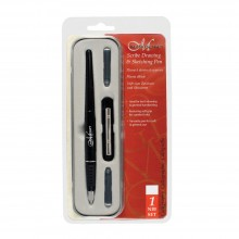 Manuscript Scribe Drawing Pen: Iridium point fine