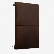 Midori : Traveler's Notebook : Leather Cover : Brown