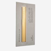 Traveler's Company : Solid Brass Ruler : 15cm