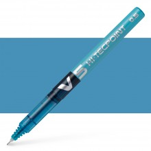 Pilot : V5 Liquid Ink Rollerball Fine Line : Light Blue