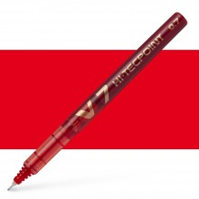 Pilot : V7 Liquid Ink Rollerball Medium Line : Red