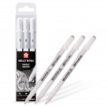 Sakura : Gelly Roll : White Gel Pen : Set of 3