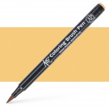 Sakura : Koi : Color Brush Pen : Woody Brown