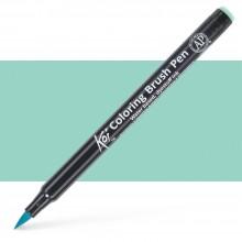 Sakura : Koi : Color Brush Pen : Peacock Green