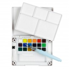 Sakura : Koi Watercolors : Pocket Field Sketchbox : Set of 18