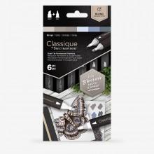 Spectrum Noir : Classique Marker : Greys Set of 6