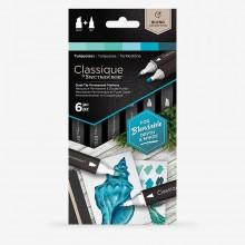 Spectrum Noir : Classique Marker : Turquoises Set of 6